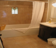 Bathroom#1 with 6' Whirlpool Tub