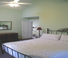 Bedroom#1 with King bed-