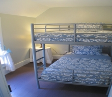 Bedroom#2 with Twin bunkbed