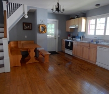 Kitchen with Door to Back Porch