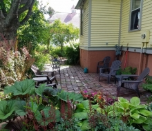 Back Yard Patio and Gardens